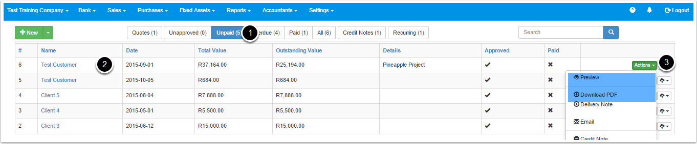 viewing-an-invoice